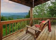 A Smokin' View cabin in Gatlinburg