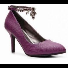 7cb16c37c5ea9 9 Great Purple Shoes images | Purple shoes, Bridal heels, Wedding heels