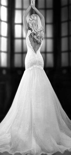 Low Back | wedding dress | tulle
