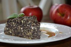Zápisky Jany Ch.: Šťavnatý jablkovo-makový koláč s tvarohom a bez múky Banana Bread, Low Carb, Sweets, Beef, Baking, Fit, Desserts, Recipes, Cakes