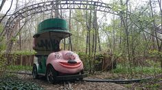 Just one of the many amazing views Spreepark has to offer. this abandoned themepark is located in the east of Berlin
