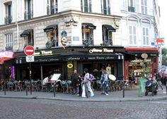 Restaurant in Paris, France.