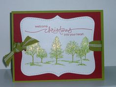 Jill's Card Creations: Search results for christmas tree