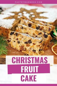 This moist, beautiful and super flavorful cake packed with a variety of soaked dried fruits, candied orange peels, nuts and laced with aromatic brandy. Baking Recipes, Cake Recipes, Bake My Cake, Candied Orange Peel, Dried Apricots, Cake Batter, Baking Pans, Raisin, Madness