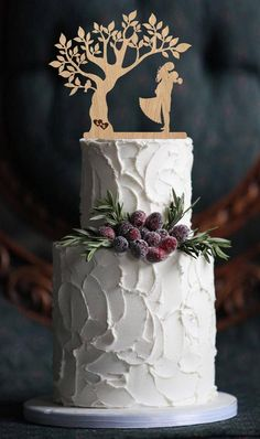 Wood Cake, Wooden Cake Toppers, Rustic Wedding Cake Toppers, Wedding Cake Decorations, Wedding Topper, Centerpiece Decorations, Mr Mrs, Create A Cake, Engagement Cakes