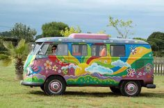 Summer Breeze hippie bus