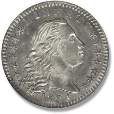 Flowing Hair. 1794-1795 Coin Auctions, World Coins, Rare Coins, Coin Collecting, Betty Boop, Hair