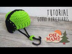 Gorro con  Auriculares a crochet - YouTube