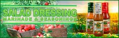 Hendrickson's Salad Dressing, Marinade & Seasonings. Gluten-Free. Fat Free. No Preservatives or Chemicals.