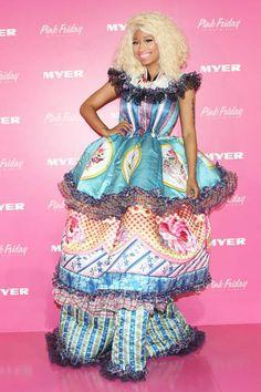 It's bold, big, and bright for Nicki Minaj