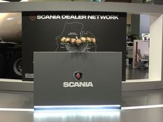 Custom stand for Scania Automechanika Exhibition Corporate Id, South Africa, Exhibition Stands, Events, Projects, Log Projects, Blue Prints