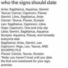 zodiac sign should you date