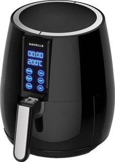 5. This air fryer that allows you to fry, bake, toast, roast, grill and reheat the food with just hot air and no oil at all. It also makes the frying process way