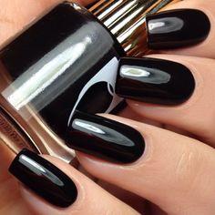 Floss Gloss Black Holy Nail Polish