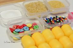 A selfmade auditory reminiscence – Emma's Pocket book Montessori Activities, Infant Activities, Activities For Kids, School Supplies, Diy For Kids, About Me Blog, Diy Crafts, Memories, Homemade
