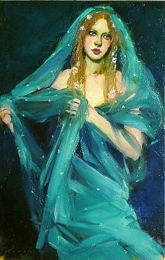 Malcolm Liepke - 'Wrapped in Veil' - Telluride Gallery of Fine Art