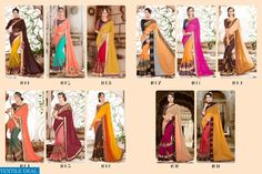 PRODUCT CODE: RONAK ANGEL WHOLESALE EMBROIDERED ETHNIC SAREE SUPPLIER Catalog pieces: 11 Full Catalog Price: 10450 Price Per piece: 950 MOQ: Full catalog Fabrics :-  Georgette and Silk With Embroidery  Shipping Time: 4-5 days With Blouse  VISITE OUR WEBSITE - http://webfab.in/wholesale-product/Sarees/ronak-angel-wholesale-embroidered-ethnic-saree-supplier-ronak-angel-full-catalog-set