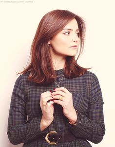 Image result for jenna coleman hair long