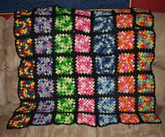 Ravelry: Project Gallery for Granny Squares Galore! pattern by Lion Brand Yarn