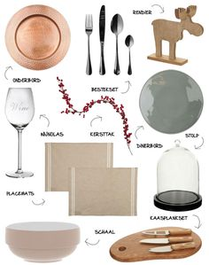 Met V&D stijlvol de tafel dekken #inspiration #christmas #table #interior #myhomeshopping #copper #styling #decoration