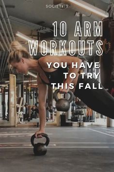 10 Arm Workouts You Have To Try This Fall