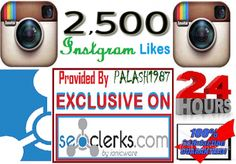 Provide Over 2,500 Instagram Likes on you Instagram Picture ... for $2