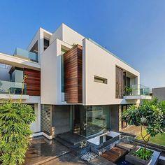 Unique luxury home design .