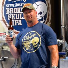 When not taking steel chairs to the face, it turns out that Stone Cold Steve Austin likes to gently sip on West Coast-style craft IPAs. So he made one to reflect that.