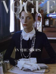 Daria Vogue Italia. Love this cover.