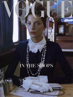 Daria Vogue Italia. Love this cover.