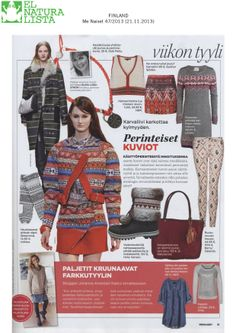 Happy to have our bag NA48 Rioja - Brown featured in http://www.menaiset.fi/ from Finland