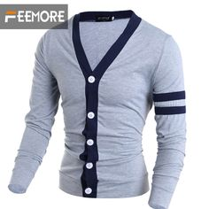 Men's  Pullover Slim Retro Long-sleeved