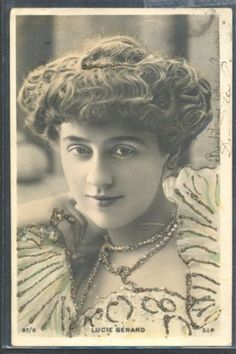 QA134-ARTIST-STAGE-STAR-Lucie-GERARD-GLITTER-Tinted-PHOTO-pc-REUTLINGER-1904