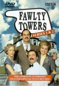 Another hilarious British Sitcom starring John Clease, that airs on PBS.