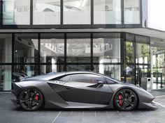 Best Sports Cars : Illustration Description Lamborghini Sesto Elemento