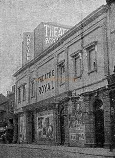 The Theatre Royal, Scarborough - From 'The Playgoer' in 1901 - Courtesy Iain Wotherspoon. North Yorkshire, Old Pictures, Vintage Posters, Trail, Louvre, England, History, Building, Theatres