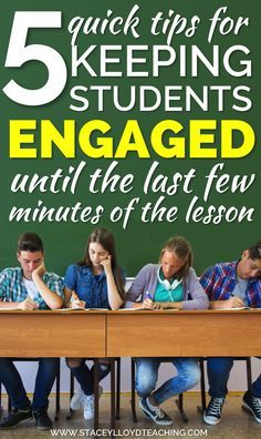 A blog post about keeping middle/high school students engaged all lesson.