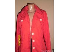 Czerwony płaszczyk firmy H&M. MEGA TANIO!
