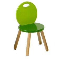 John Crane Two Tone Chair in Green