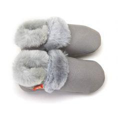 Elks & Angels Love Winter Booties - Dove Grey - fawn&forest