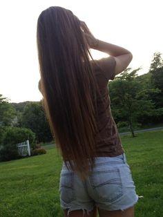 long hair. WANT!!!!