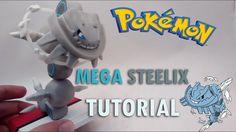 Mega Steelix Pokémon Polymer clay tutorial
