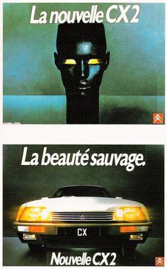 Jean Paul Goude Citroën CX2 - Grace Jones - 1984 #jetudielacom