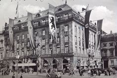 Berlin, Hotel Adlon, 1938. With Robert Wilson in A Small Death in Lisbon