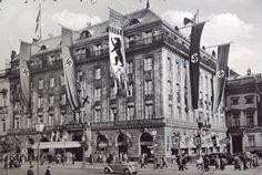 Berlin, Hotel Adlon, 1938. With Robert Wilson in A Small Death in Lisbon