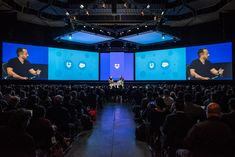Dropbox user conference and stage design