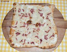 Uit de keuken van Levine: Tarte flambée/flammekueche