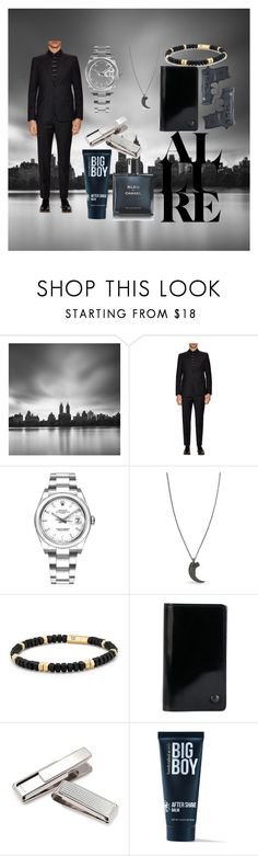 """Party at Blackwood Manor"" by millyruiz987 ❤ liked on Polyvore featuring Prada, Rolex, Parts of Four, David Yurman, Yohji Yamamoto, M-Clip, 21 Men, Chanel, men's fashion and menswear"
