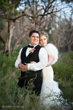 Country wedding couple amongst the Australian bushland  Location ~ Kings Park, Perth Photography by DeRay & Simcoe