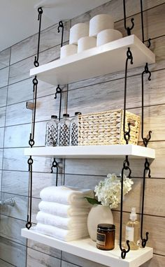 Cool 70 Gorgeous Bathroom Shelves and Organization Ideas https://wholiving.com/70-gorgeous-bathroom-shelves-organization-ideas